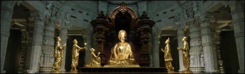 Presiding Deity of Akshardham Temple