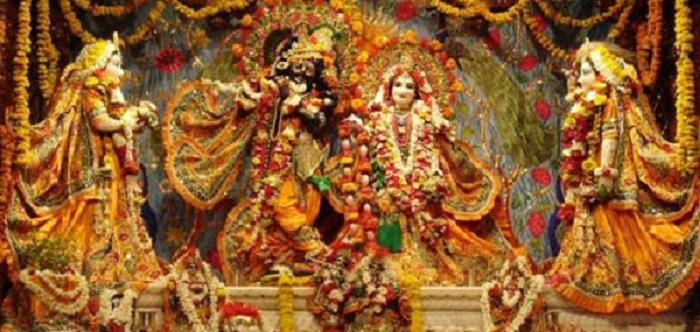 Idol of Radha Krishna in Mathura